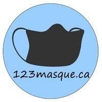 Logo 123masque.ca