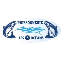 Logo Poissonnerie Les 5 Océans