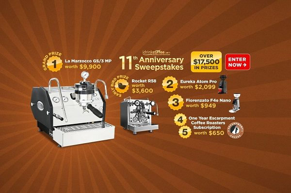 Concours Gagnez une machine à café La Marzocco GS / 3 MP ou la Rocket R58 Dual Boiler!