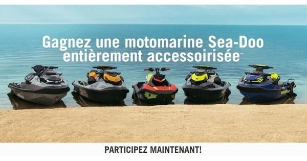 Concours Gagnez une motomarine Sea-Doo entièrement accessoirisée!