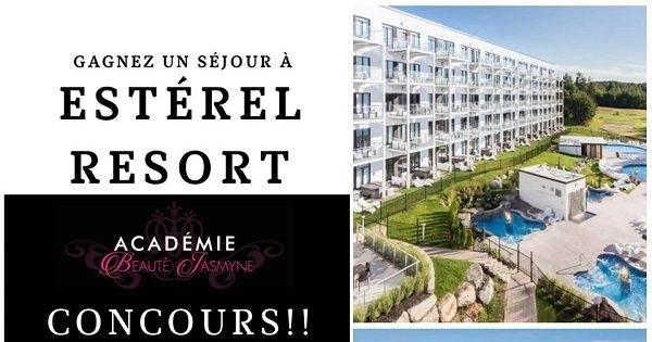 Concours Gagnez un séjour à l'Estérel Resort!