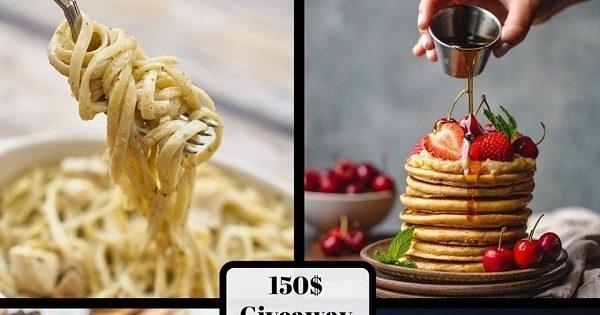 Concours Gagnez 150$ dans N'IMPORTE QUEL restaurant de VOTRE CHOIX!