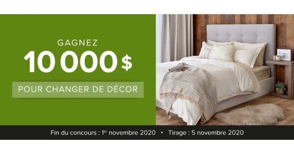 Concours Gagnez 10 000 $ pour changer de décor!