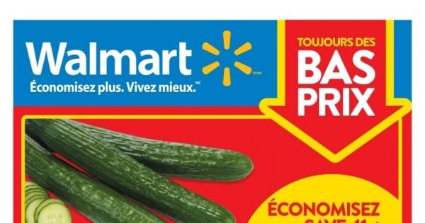 Circulaire Walmart du 9 au 15 juillet 2020