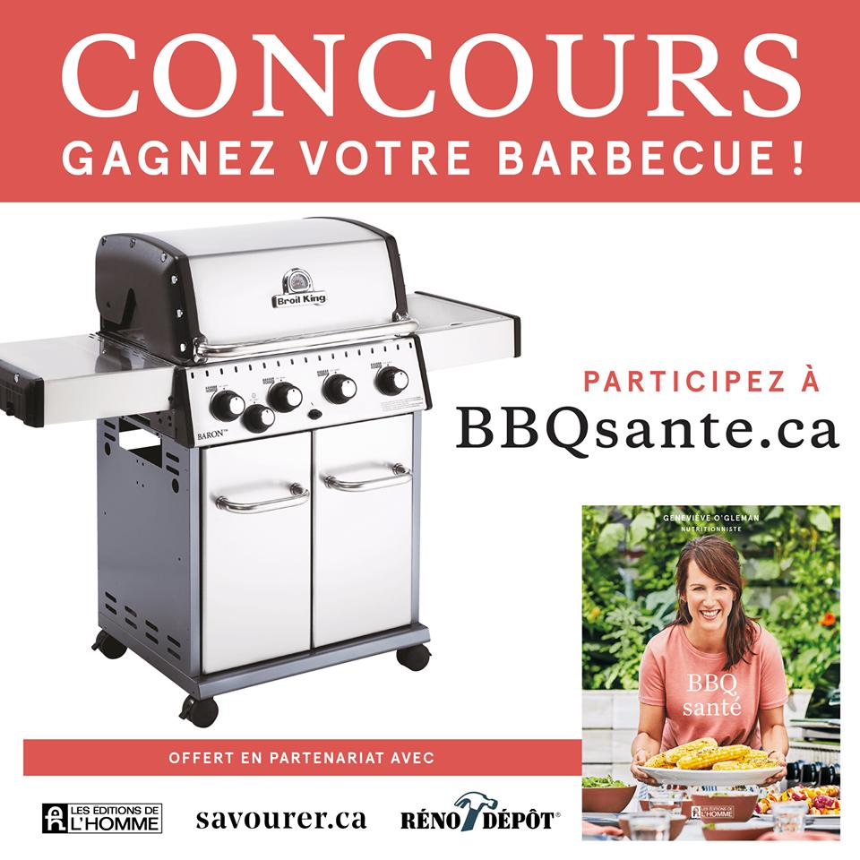 Concours Gagnez votre barbecue Broil King, votre meilleur allié pour les grillades cet été!