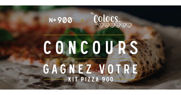 Concours Gagnez l'un des trois kits Pizzéria No 900!