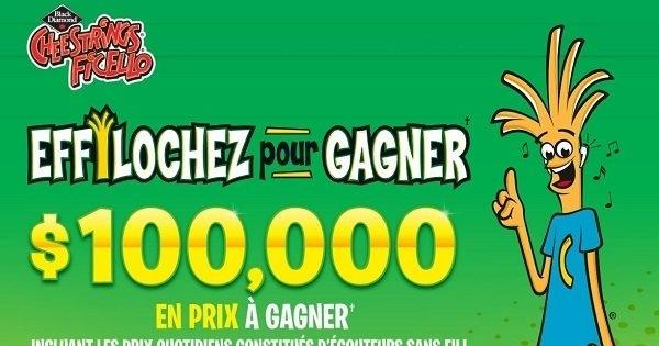 Concours Ficello Effilochez Pour Gagner!