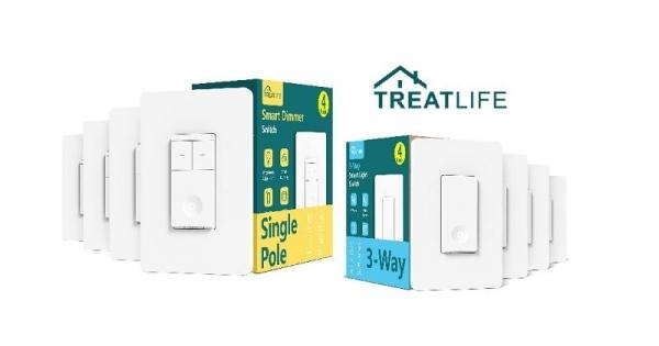 Concours Gagnez un kit d'interrupteur intelligent Treatlife pour automatiser votre éclairage!