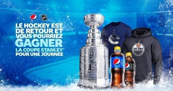Concours Gagnez l'un des milliers de prix de la LNH ou la coupe Stanley pour une journée!