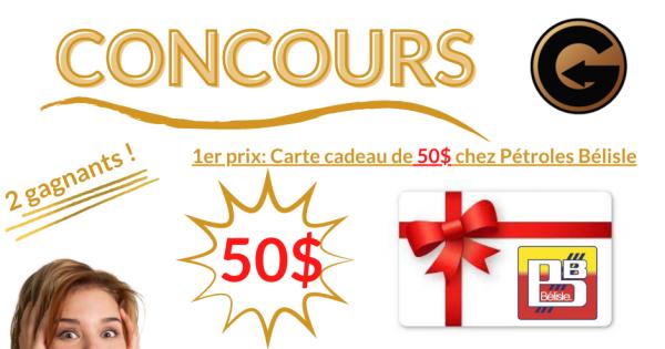 Concours Gestion Lab 2 Cartes Cadeaux à Gagner