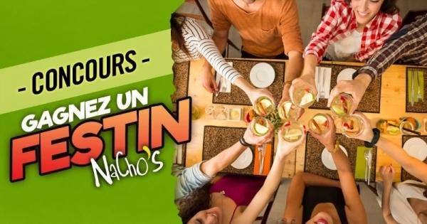 Concours Gagnez un festin Nacho's pour 4 personnes!