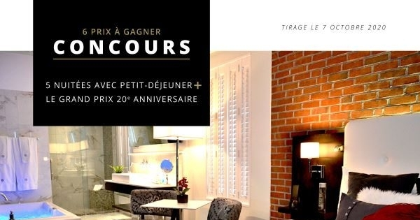 Concours Gagnez un forfait à l'Hôtel des Coutellier!