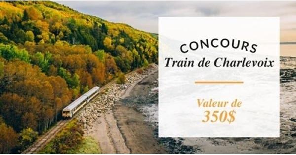 Concours Train de Charlevoix!