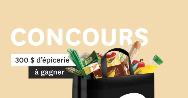 Concours Gagnez 300$ d'épicerie chez IGA, Vive la bouffe!