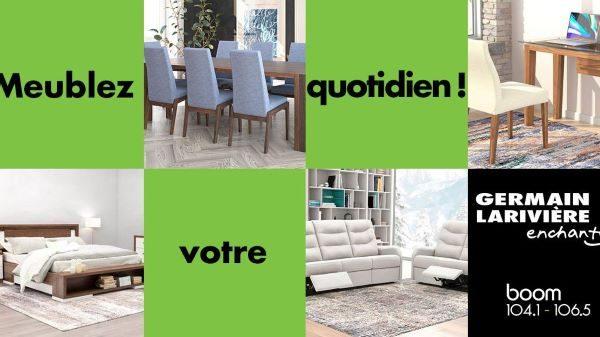 Concours Gagnez 3000$ chez Germain Larivière!