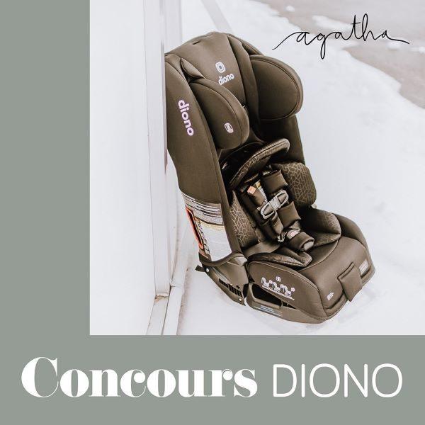 Concours Gagnez le siège d'auto 3 RXT de Diono!