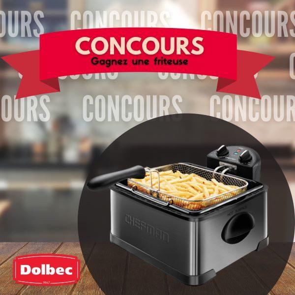 Concours Gagnez une friteuse offerte par Patates Dolbec!