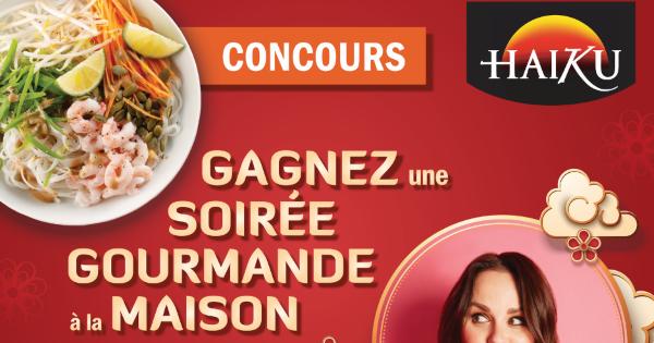 Concours Gagnez une soirée gourmande à la maison en compagnie de Sushi à la maison - Geneviève Everell!