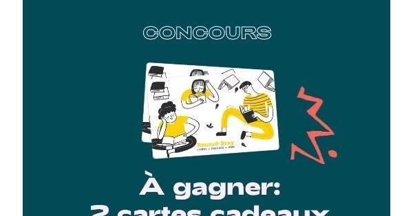 Concours Gagnez l'une des deux cartes-cadeaux Renaud-Bray d'une valeur de 100$ chacune!