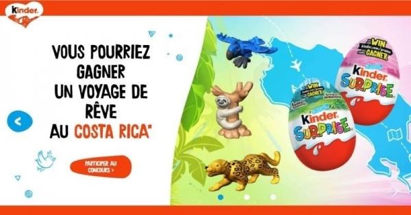 Concours Gagnez un voyage de rêve au Costa Rica ou un montant de 15 000$ en argent!