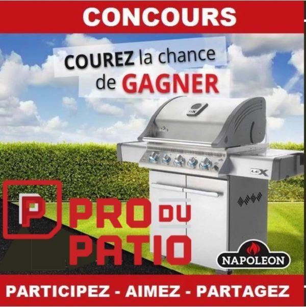 Concours Gagnez un BBQ Napoleon Prestige Série 500 d'une valeur de 1800$!