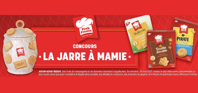 Concours CONCOURS LA JARRE À MAMIE!