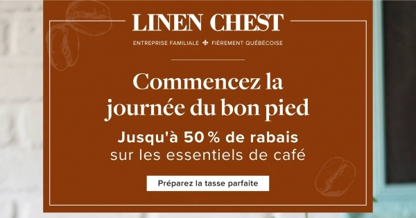 Image de la Promotion Circulaire Linen Chest du 12 au 21 Avril 2021