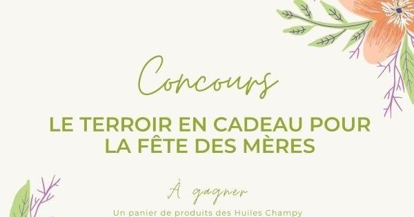 Concours Gagnez  l'un des trois paniers cadeaux offerts par Terroir et Saveurs du Québec!