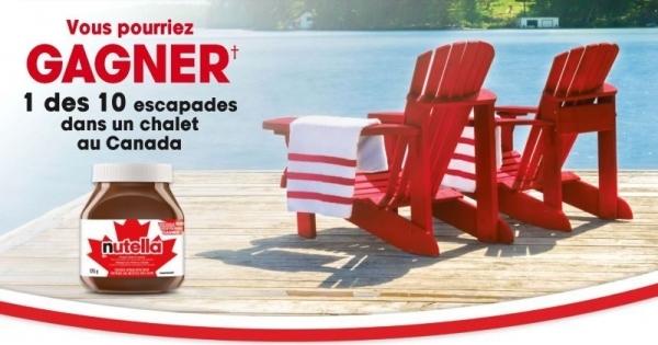 Concours Gagnez l'une des 10 escapades dans un chalet au Canada!