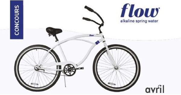 Concours Grâce à Flow, courez la chance de remporter l'un de ces 9 vélos!