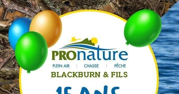 Concours Gagnez l'un des 10 certificats cadeaux de 150 $ offerts par Pronature Blackburn et fils!