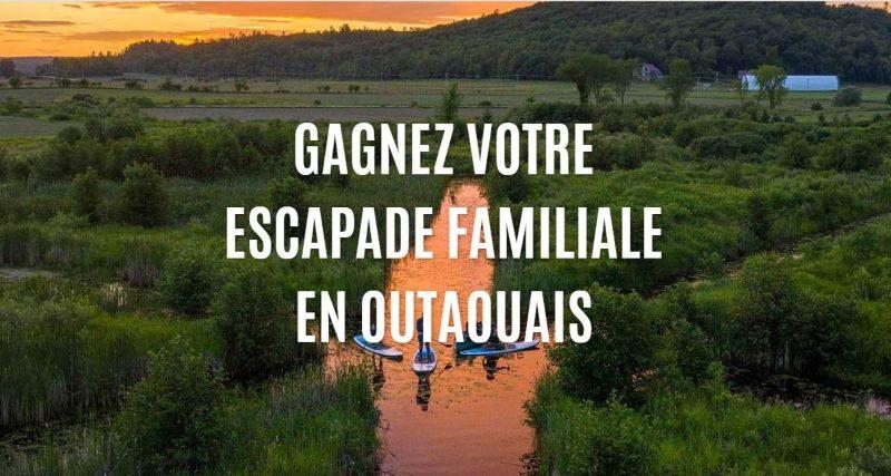 Concours Gagnez une Escapade Familiale en Outaouais!