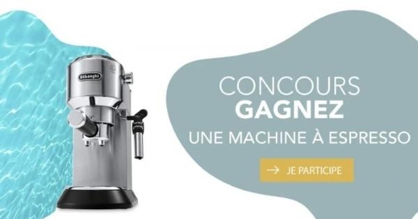 Concours Gagnez une Machine à Espresso DeLonghi d'une Valeur de 319,95$!
