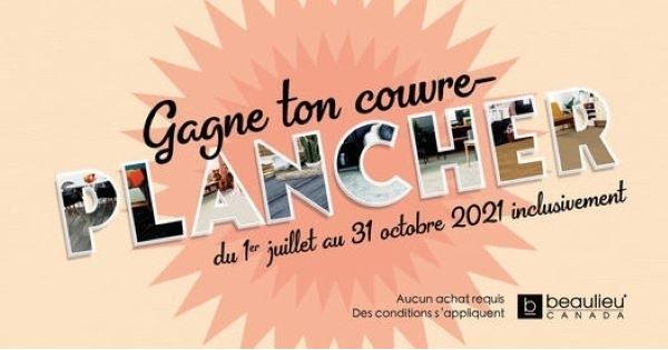 Concours Gagne ton Couvre-plancher Avec Beaulieu Canada!