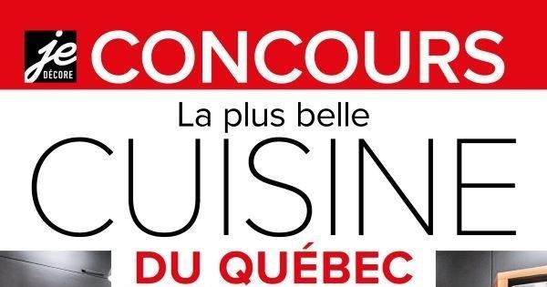 Concours La plus belle cuisine du Québec 2021!