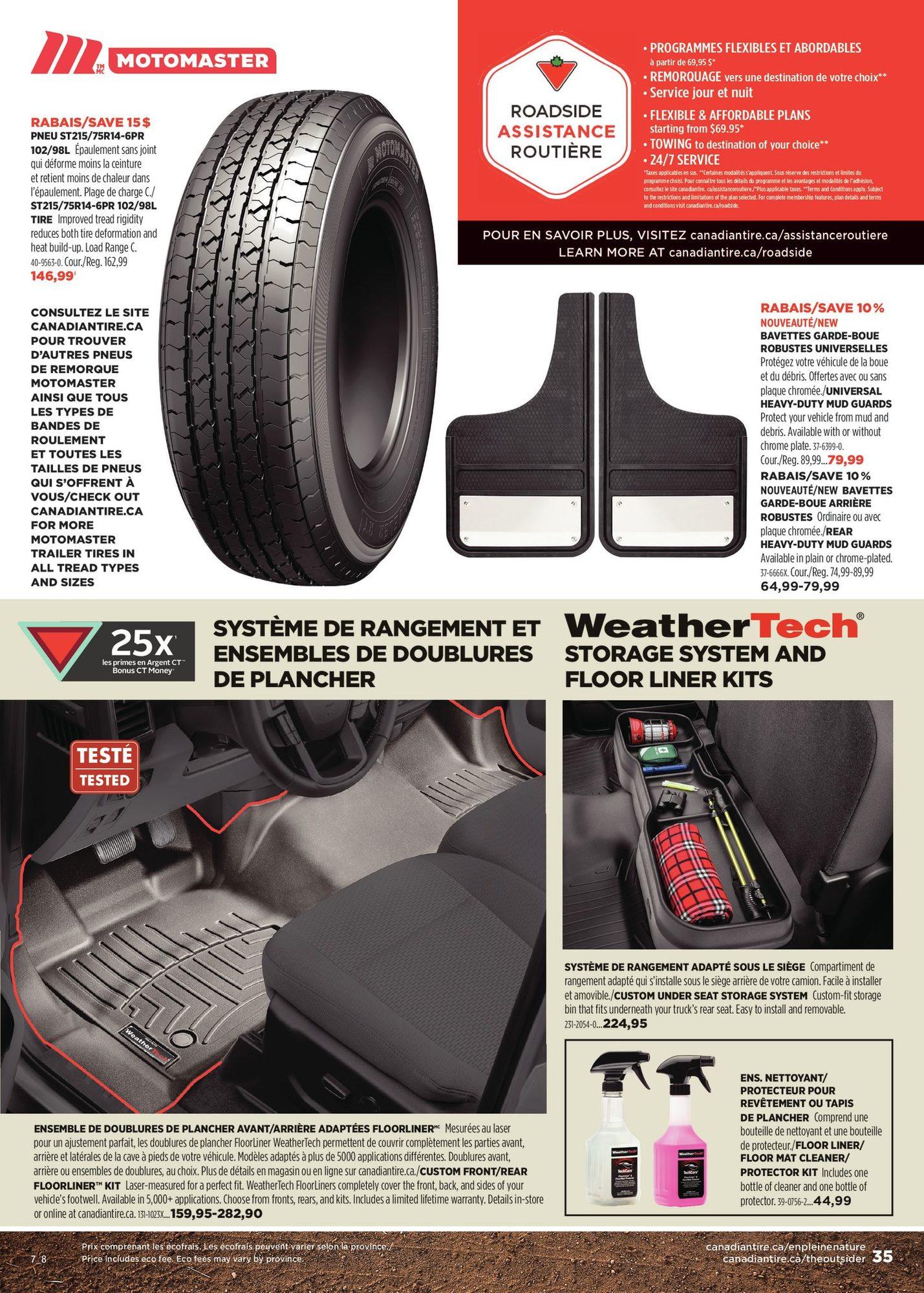 Circulaire Canadian Tire - En pleine nature - Automne 2021 - Page 35