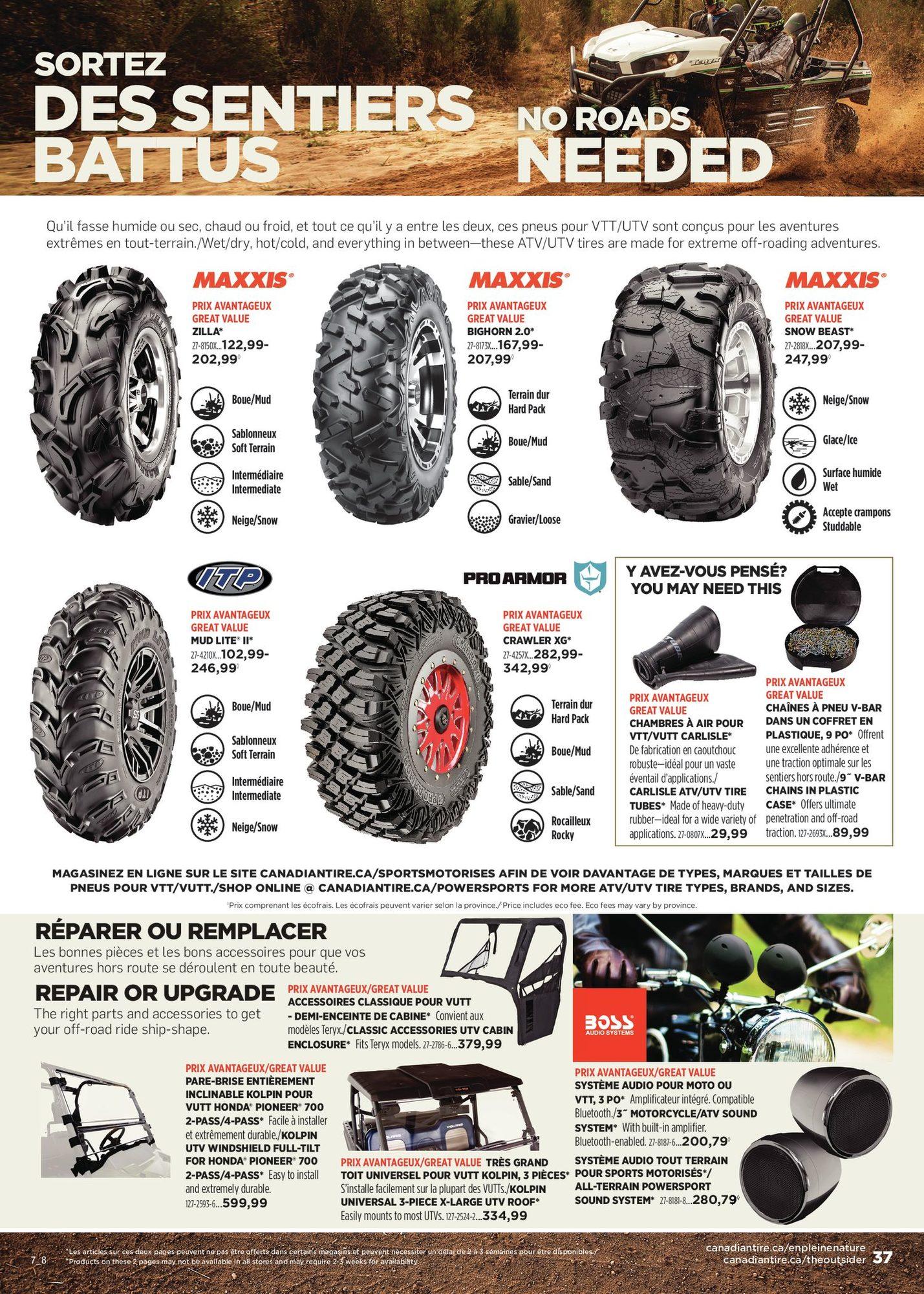 Circulaire Canadian Tire - En pleine nature - Automne 2021 - Page 37