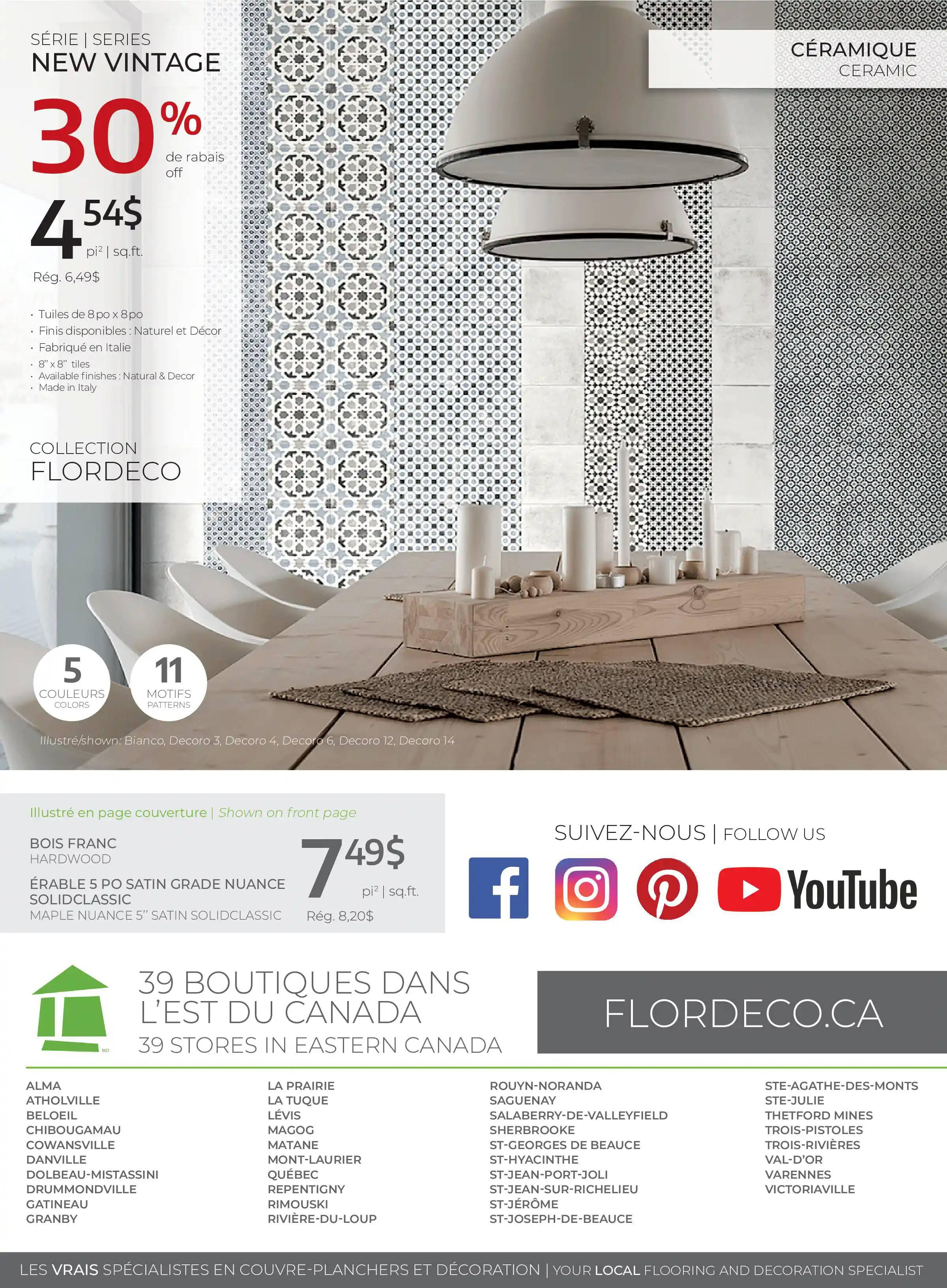 Circulaire FlorDeco du 9 Septembre au 10 Octobre 2021 - Page 8