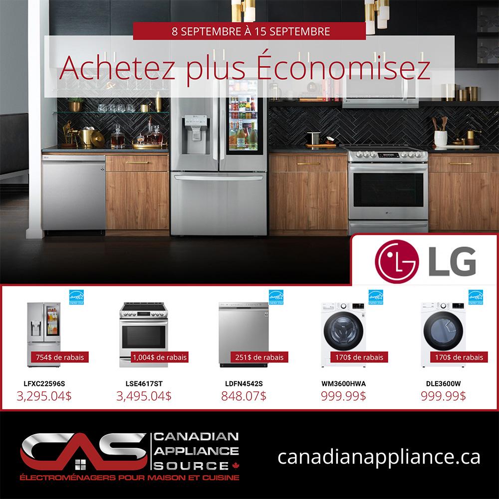 Circulaire Centre Canadien d'Electromenagers du 8 au 15 Septembre 2021 - Page 1