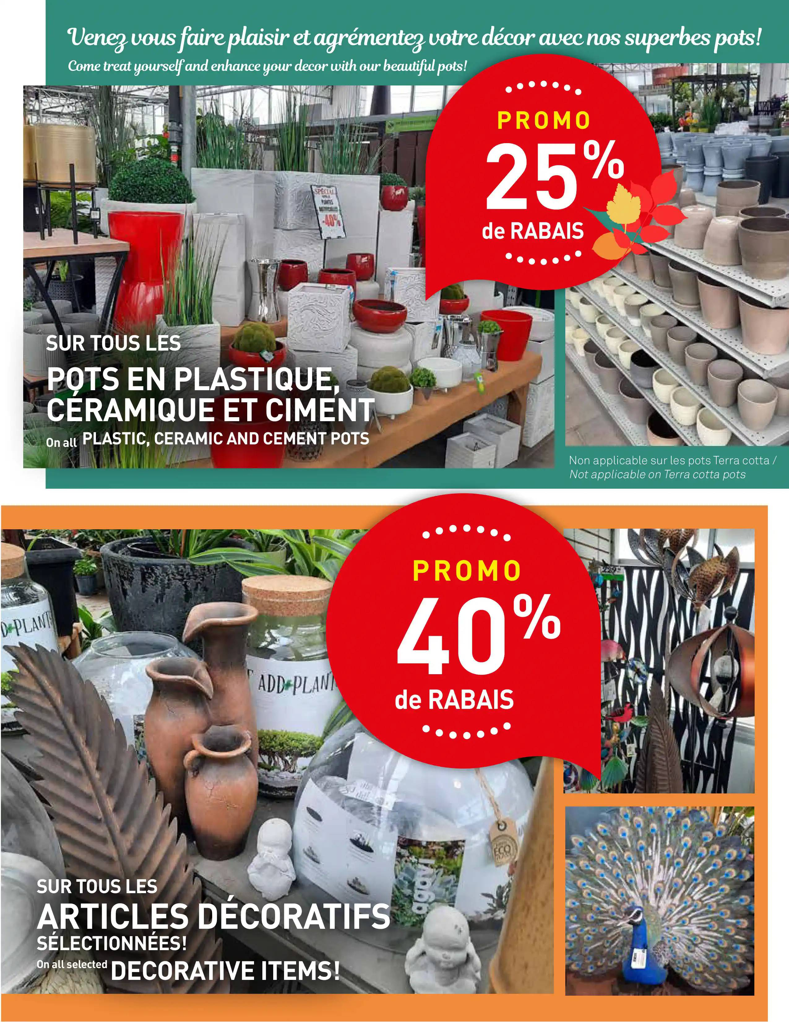 Circulaire Centre de Jardin Brossard du  9 au 22 septembre 2021 - Page 7