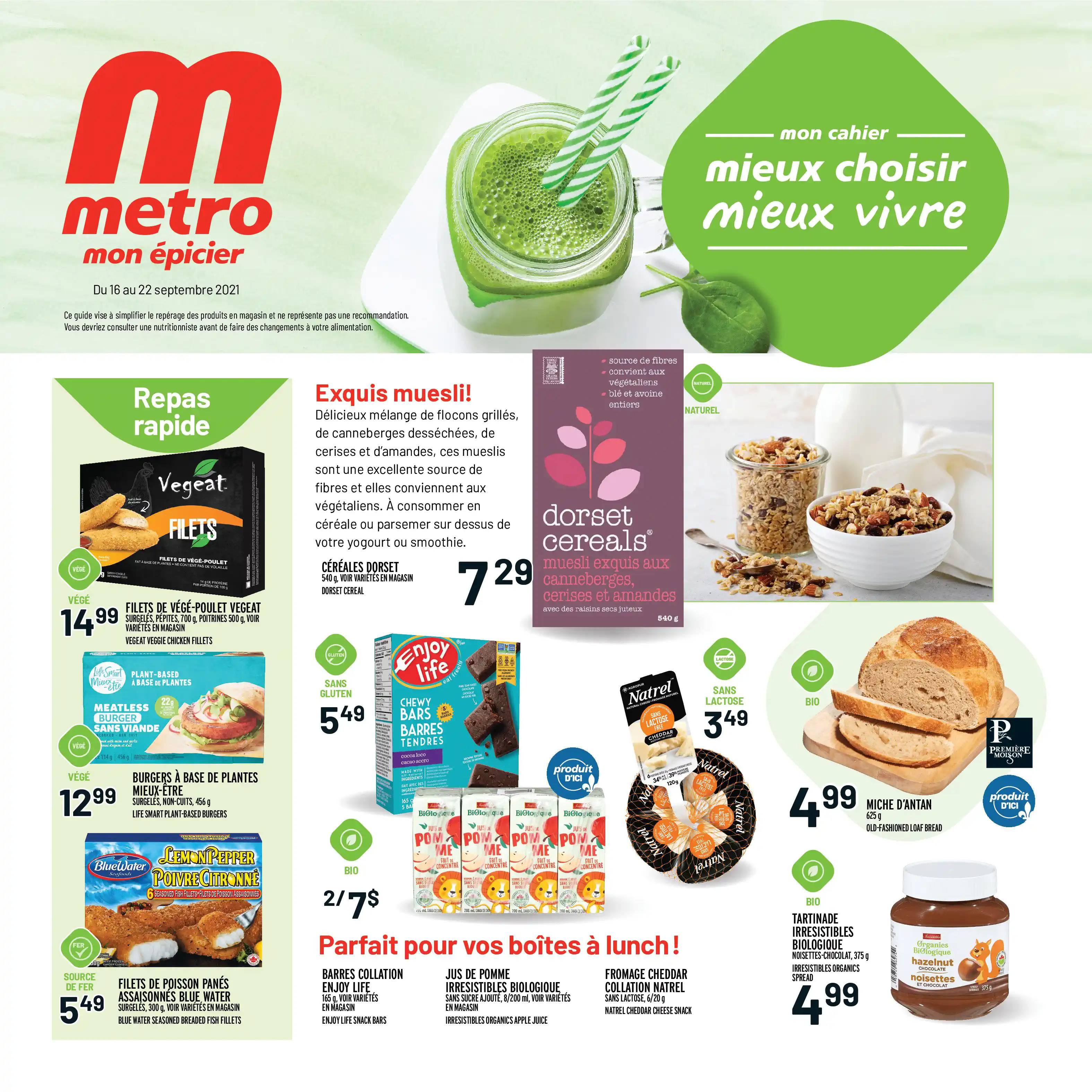 Circulaire Metro du 16 au 22 septembre 2021 - Page 16