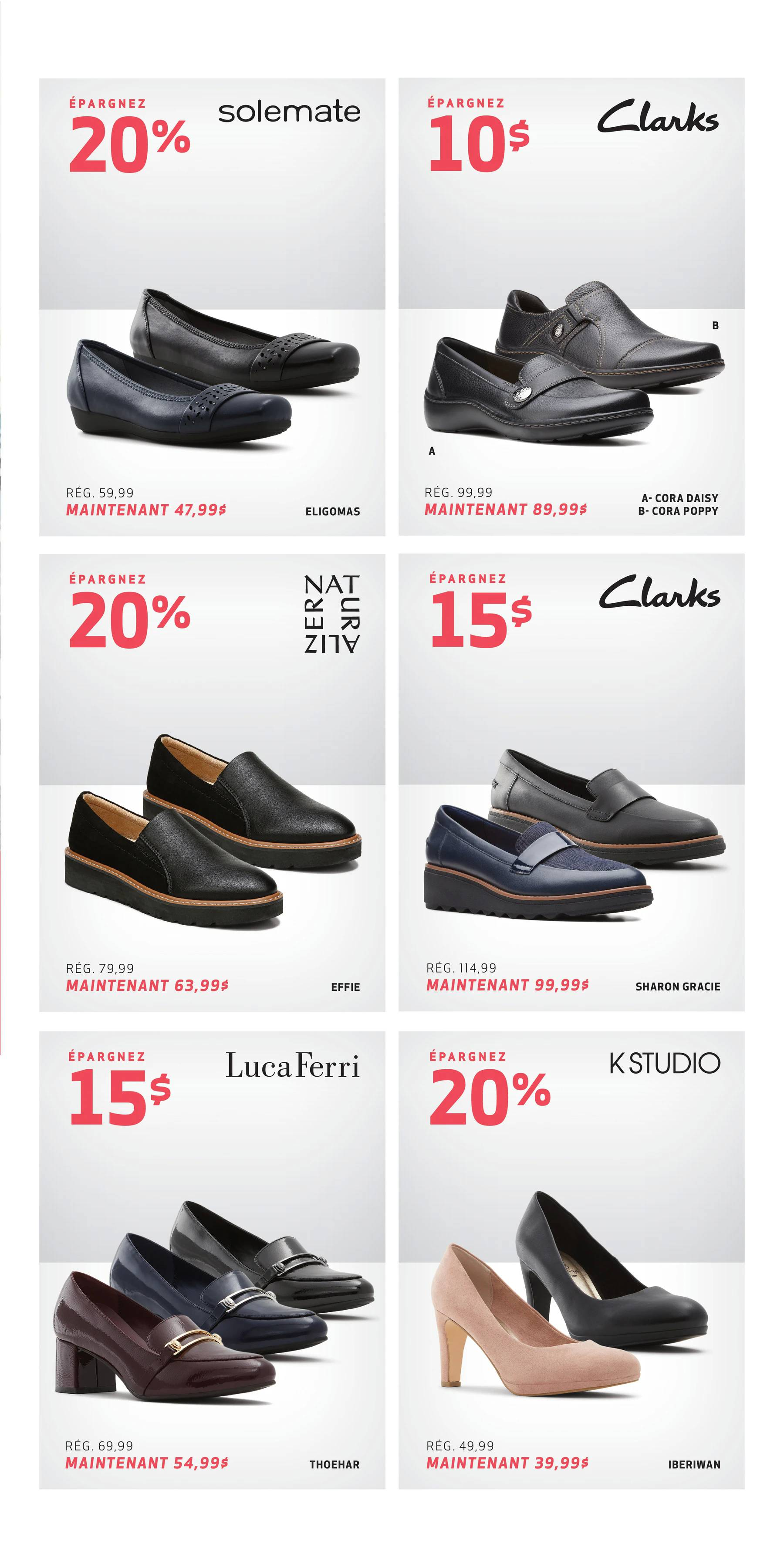 Circulaire Chaussures GLOBO du 15 au 26 Septembre 2021 - Page 3