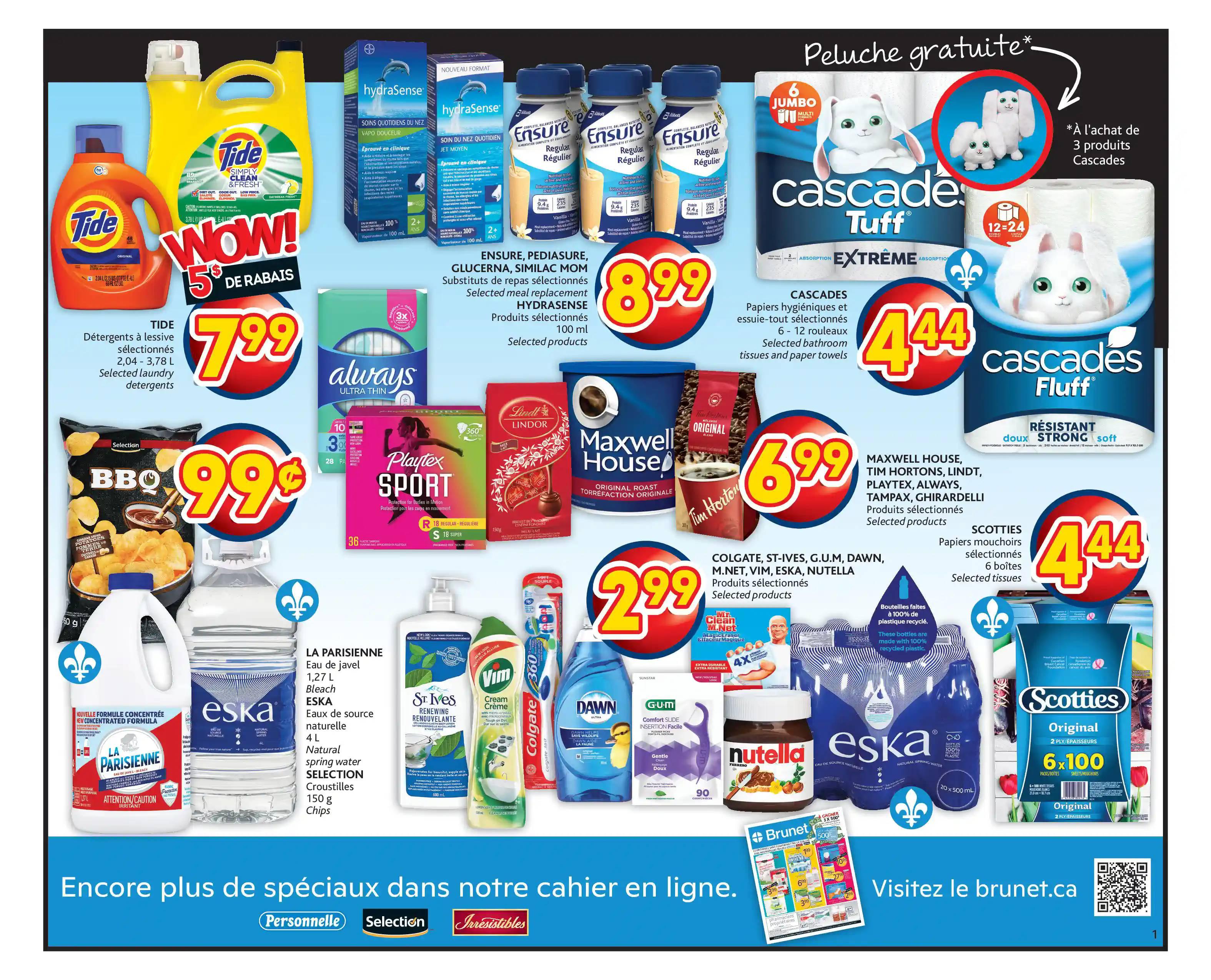 Circulaire Brunet - Pharmacie du 23 au 29 Septembre 2021 - Page 1