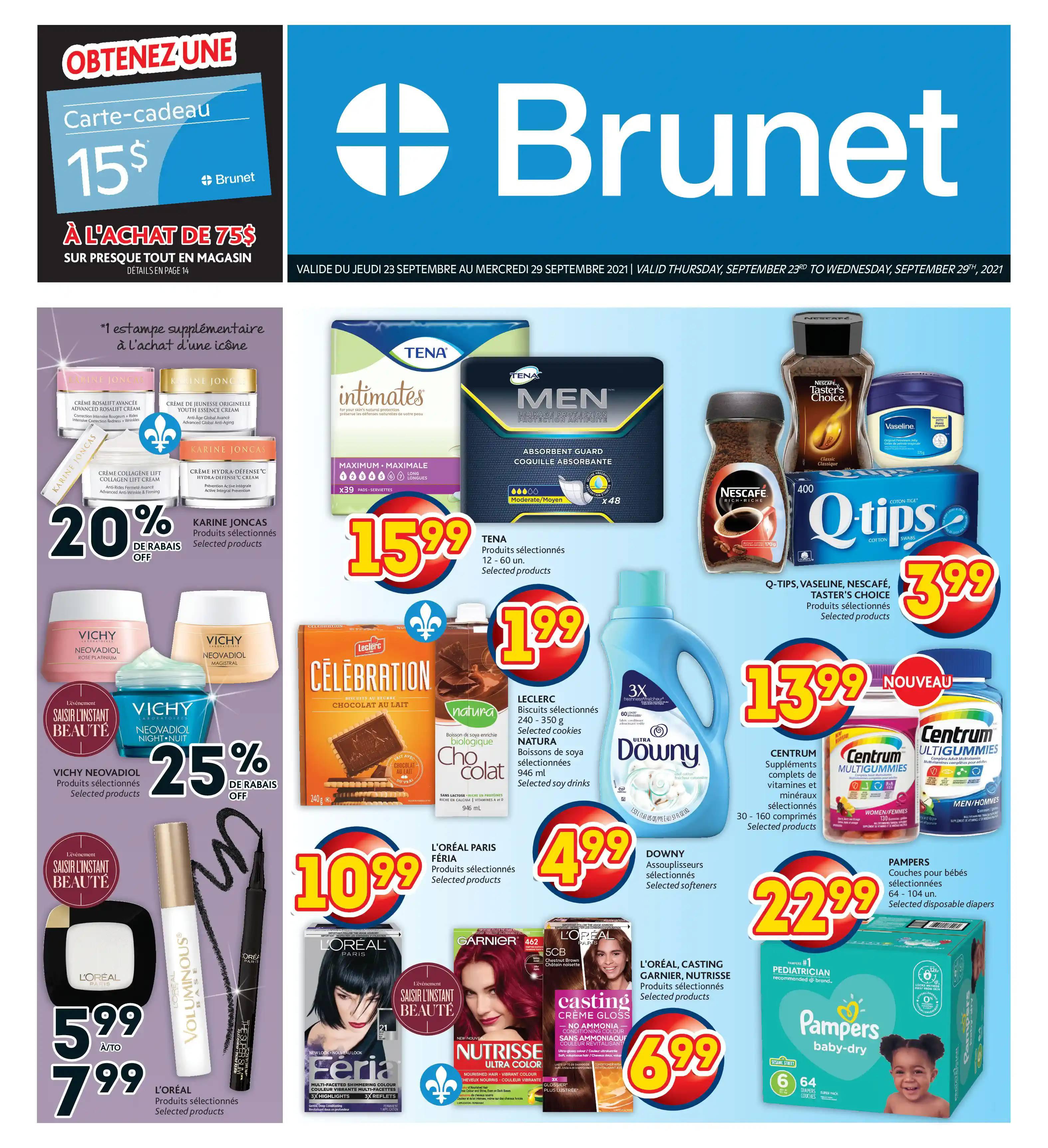 Circulaire Brunet - Pharmacie du 23 au 29 Septembre 2021 - Page 3