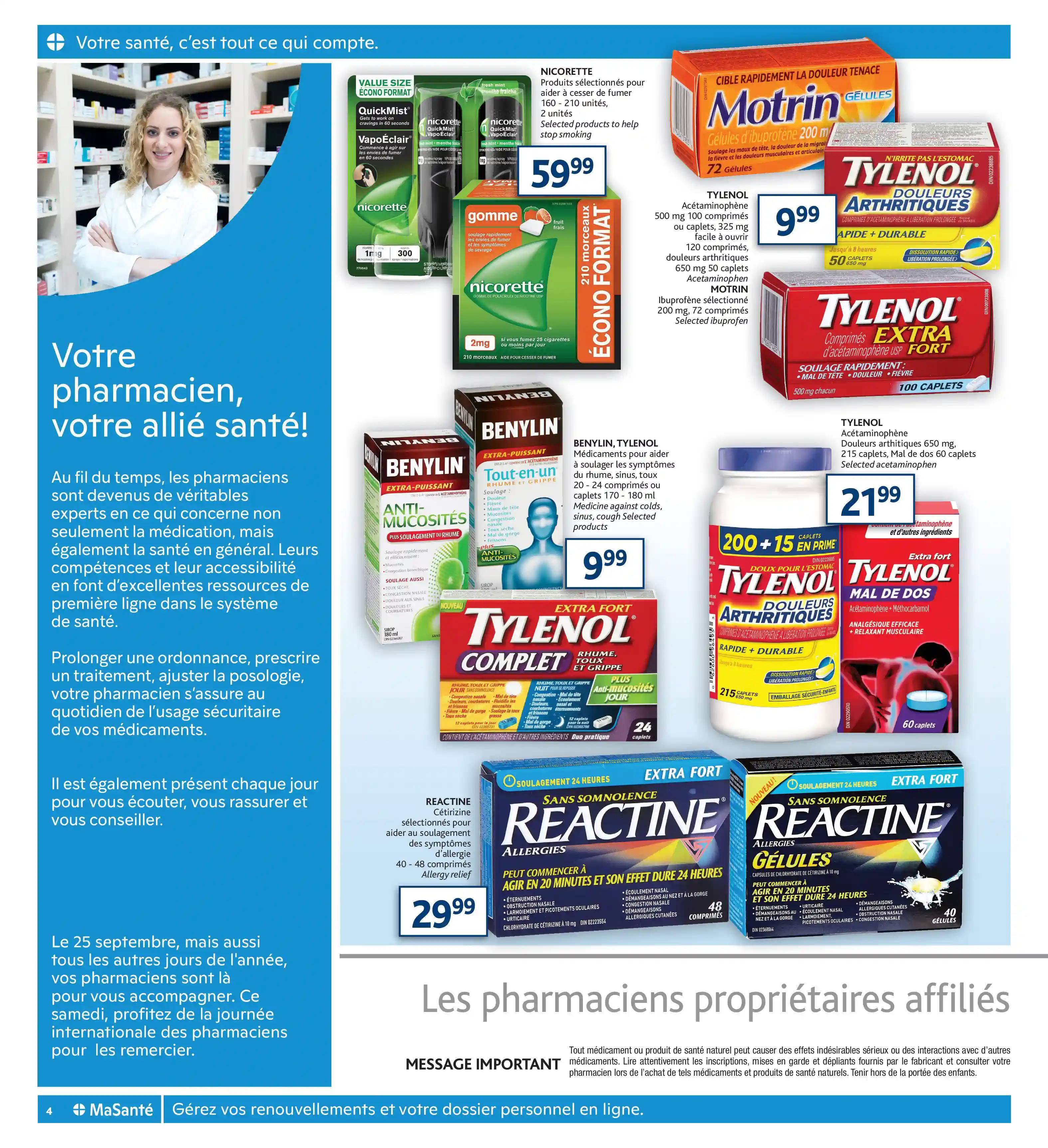 Circulaire Brunet - Pharmacie du 23 au 29 Septembre 2021 - Page 4