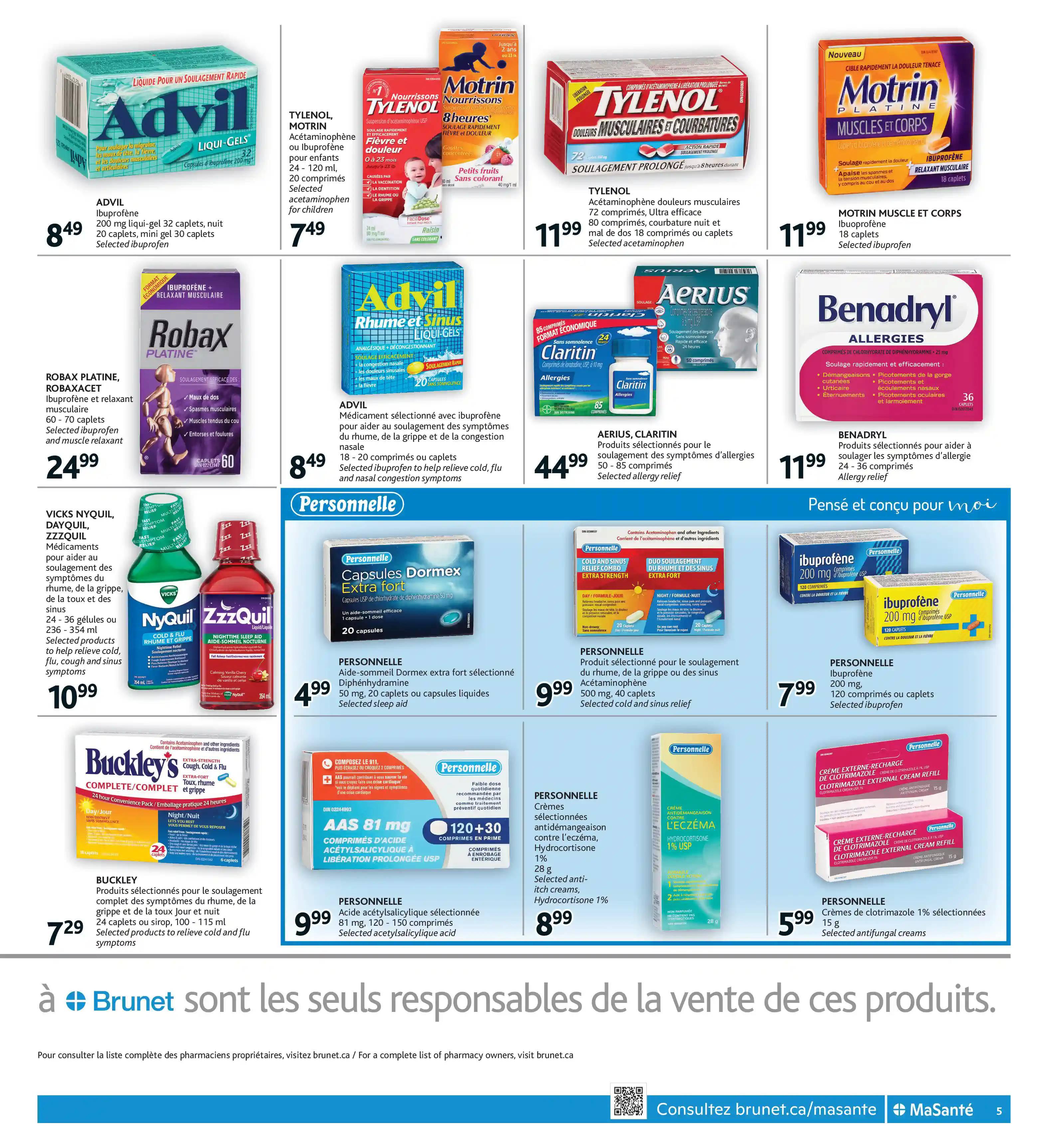Circulaire Brunet - Pharmacie du 23 au 29 Septembre 2021 - Page 5