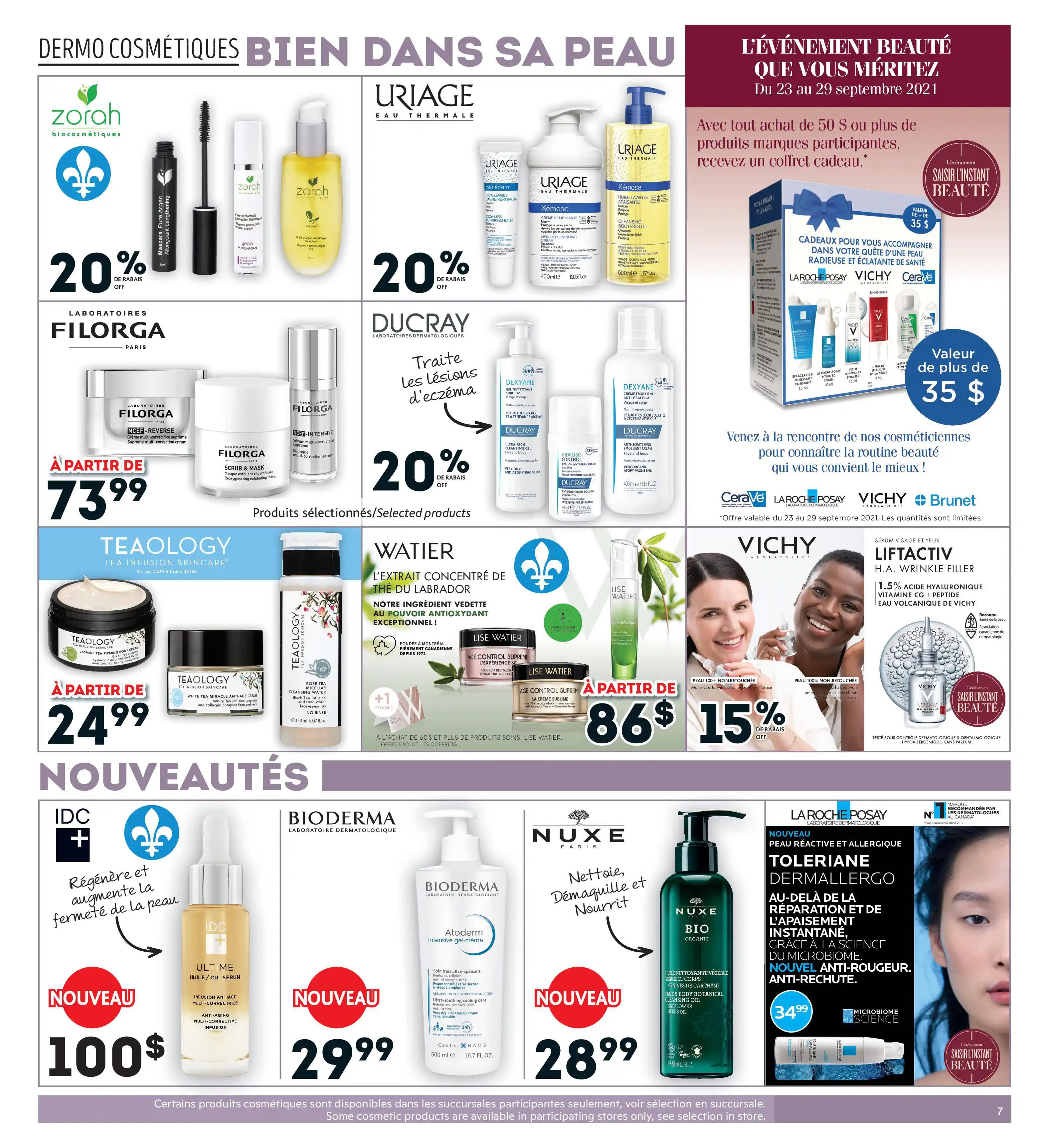 Circulaire Brunet - Pharmacie du 23 au 29 Septembre 2021 - Page 7