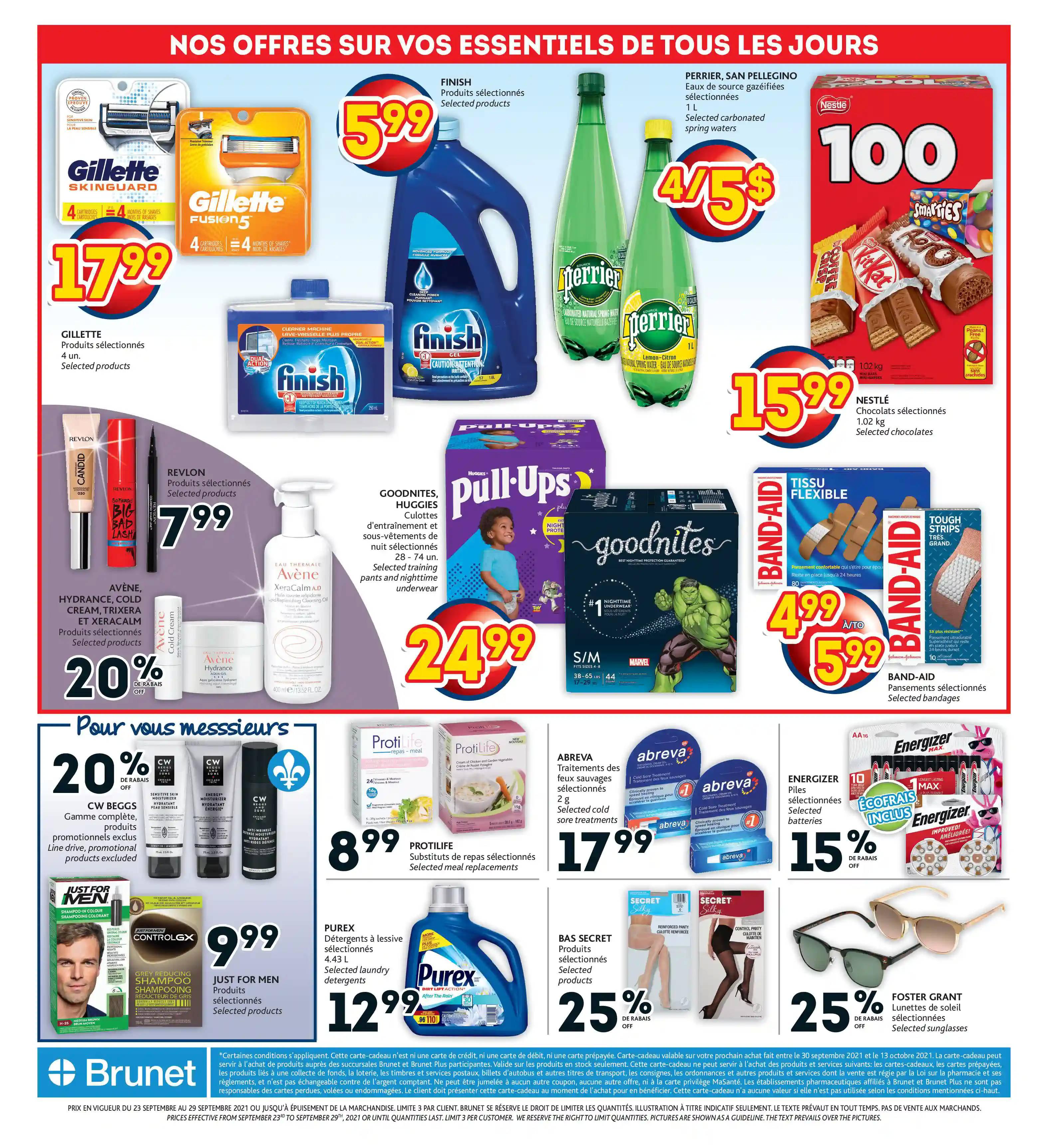 Circulaire Brunet - Pharmacie du 23 au 29 Septembre 2021 - Page 14