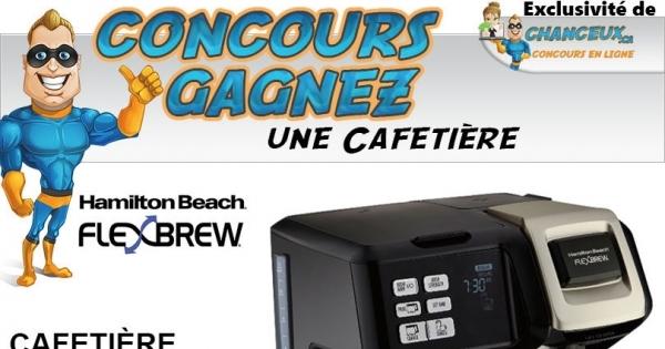 Concours Cafetière Hamilton Beach FlexBrew