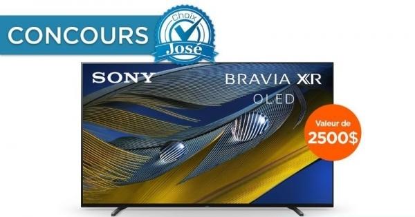 Concours Gagnez un Téléviseur OLED 55 Pouces de Sony d'une Valeur de 2500$!